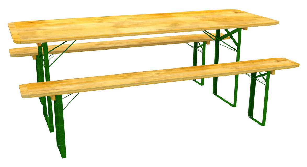 banketová súprava pivný stôl 80 cm + 2 lavice
