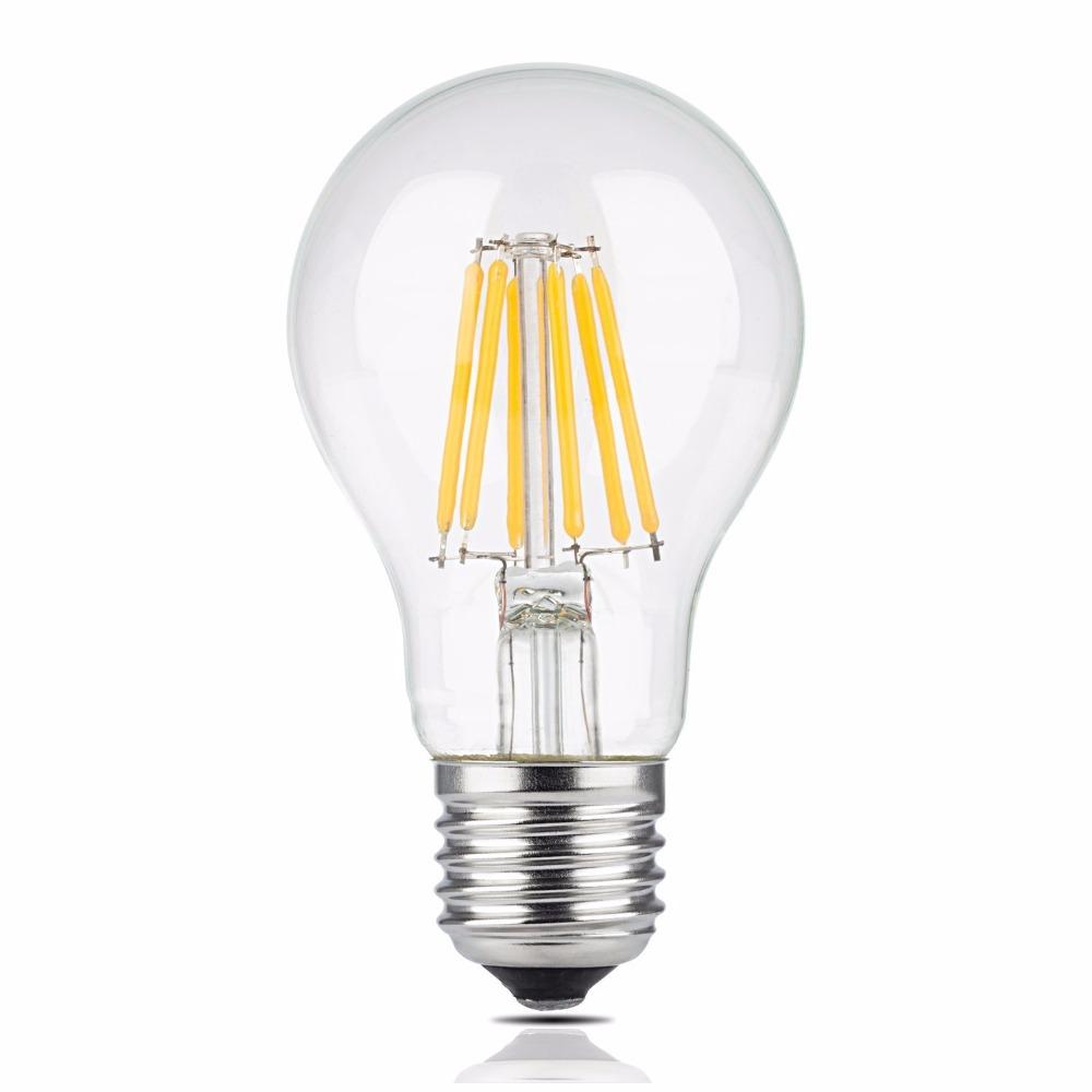LED žiarovka E27 6W=60W 720lm Vintage Retro Tepla