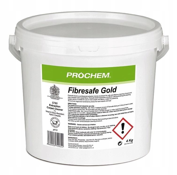 Прах Fibresafe Gold S780 4кг порошок для шерсти