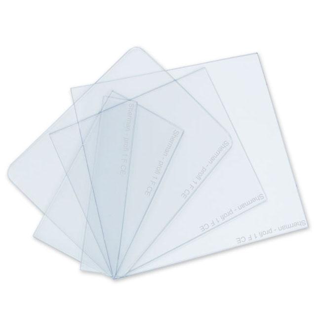 Rýchly polykarbonátový filter PVC pre masku 53x103
