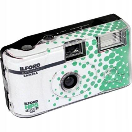 Jednorazový ilford hp5 plus kamera 27 dielov CZ-B
