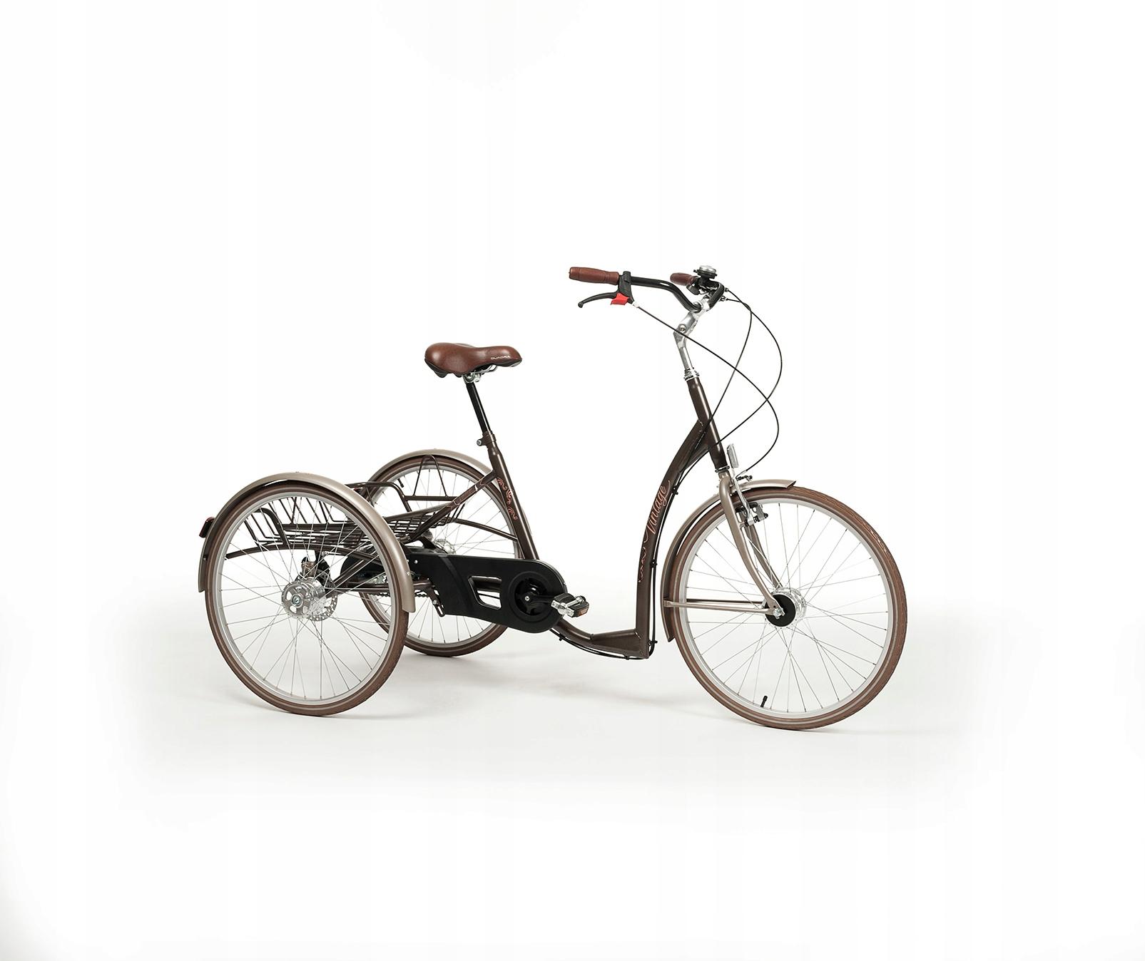 Rehabilitačné bicykel trojkolku Vintage dospelých
