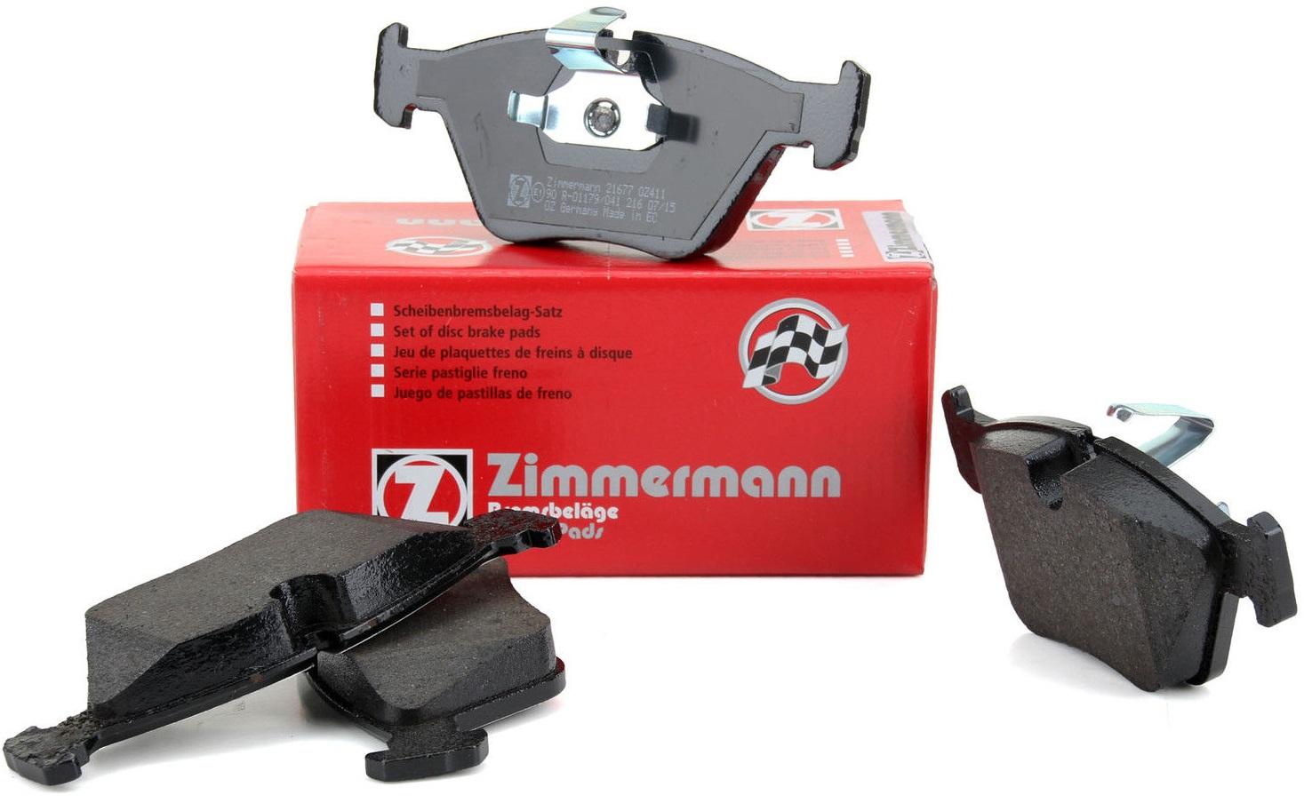 bmw e39 5 колодки колодки передние zimmermann