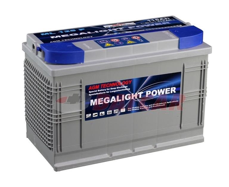Thermotrousers MEGAlight batérie AGM 115 Ah Hovoriť Systém Motora