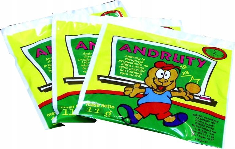 Chrumkavé wafelki Andruty 100 Ks