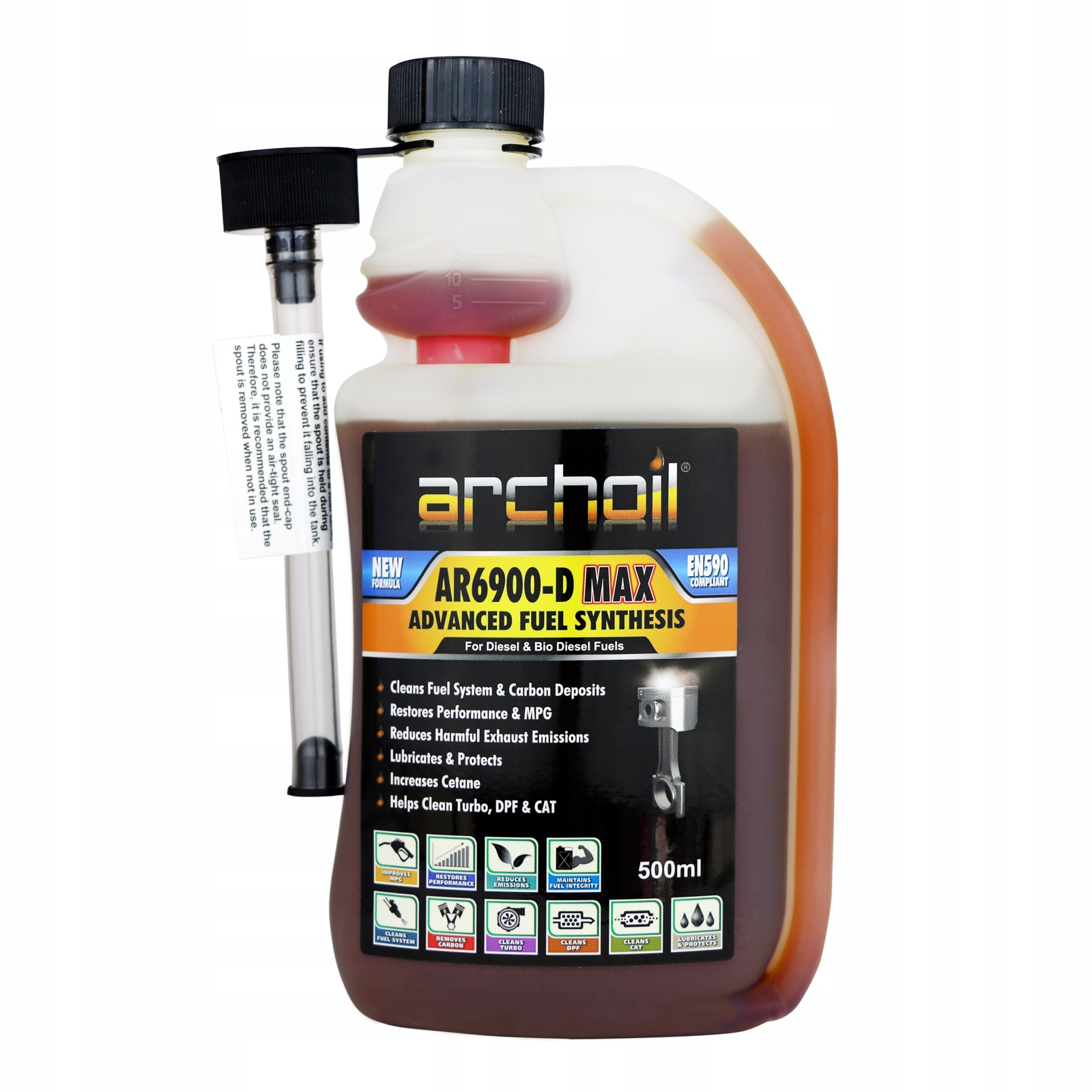 ARCHOIL AR6900 D-MAX 500ML MODYFIKATOR ON CETAN+
