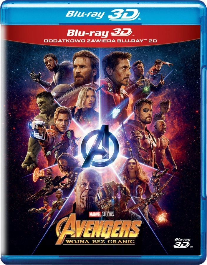 Item AVENGERS: WAR WITHOUT BORDERS 3D BLU-RAY + 2D DUBBING