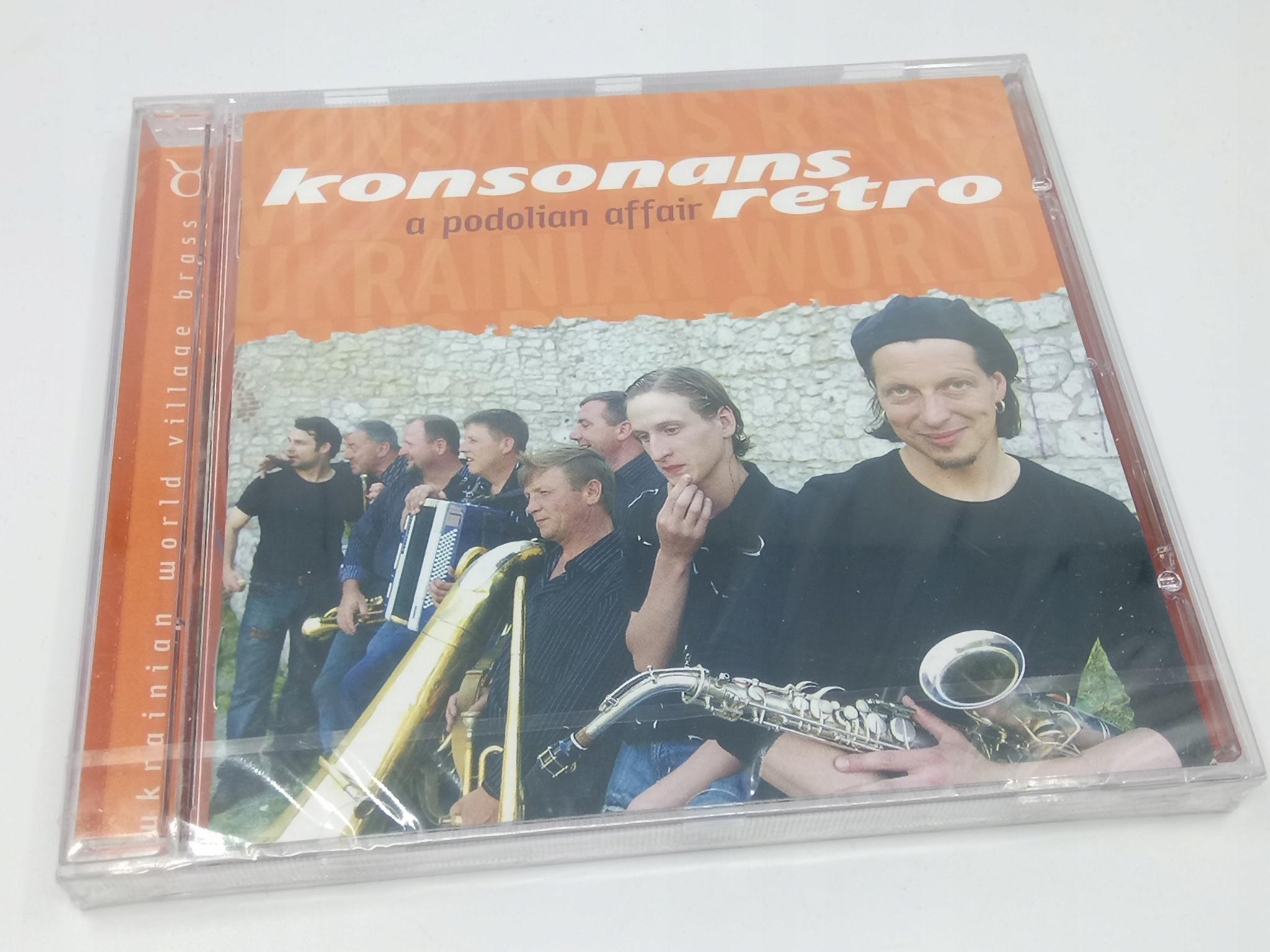Konsonans Retro - A Podolian Záležitosť CD ALBUM NOVÉ