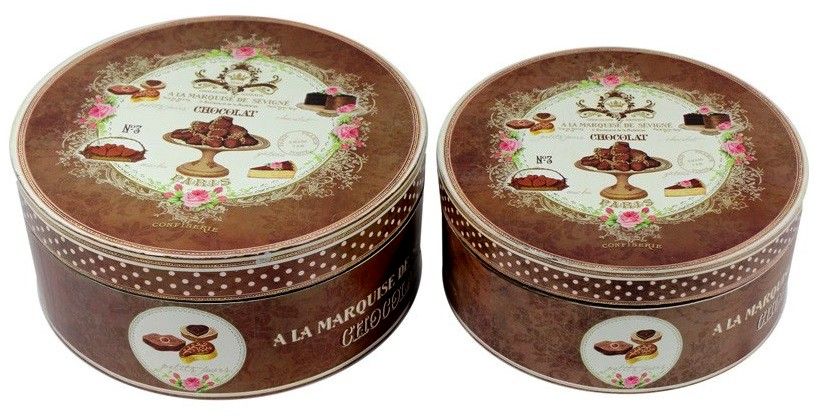DREVENÝ box CZAEKOLADKI retro čokoláda 25 cm