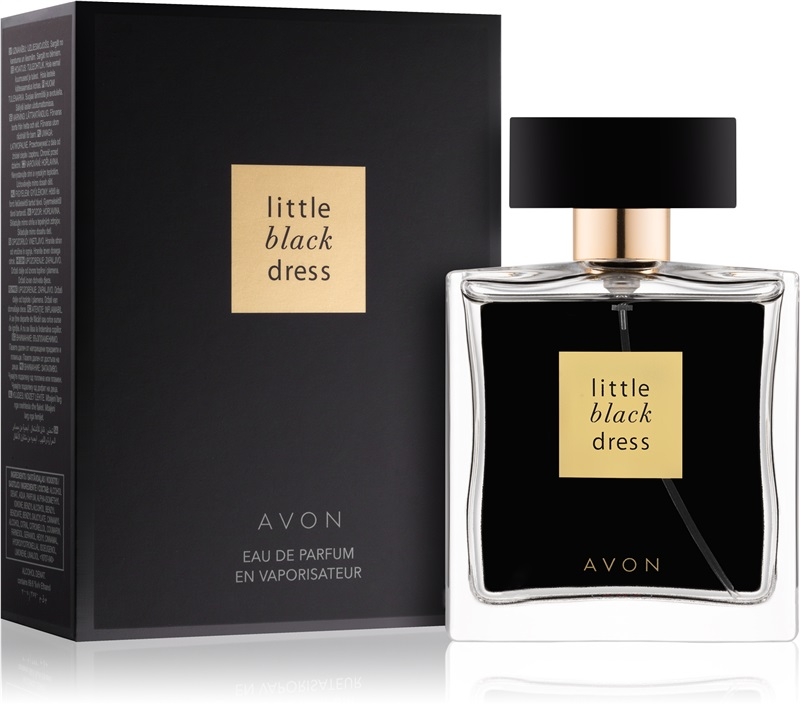 LITTLE BLACK DRESS 50 ml AVON folia WODA PERFUM