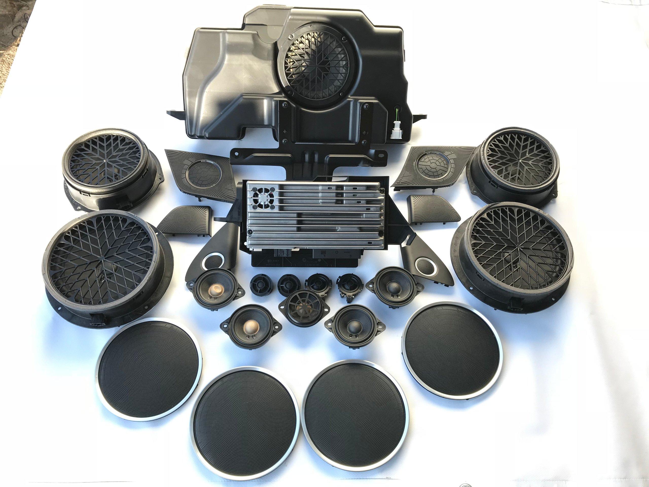 audi q5 8r звуковая система bang 8t0035223