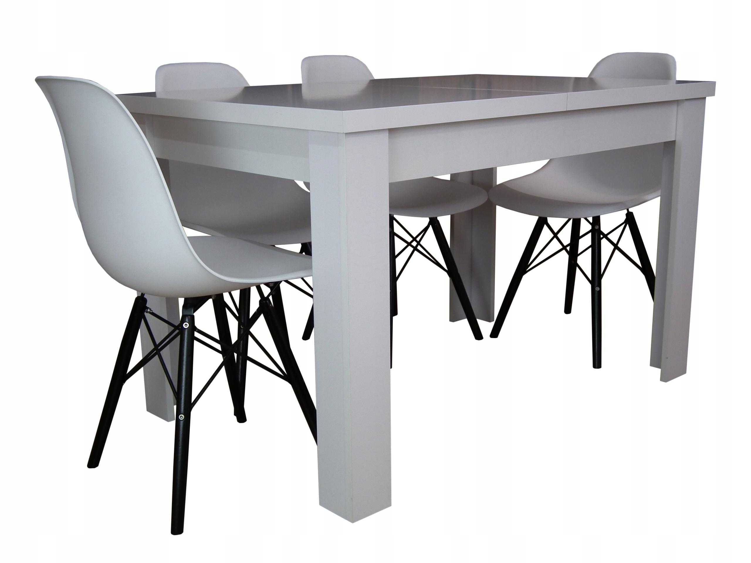 Stół Z Krzesłami Do Jadalni Salonu Lub Kuchni