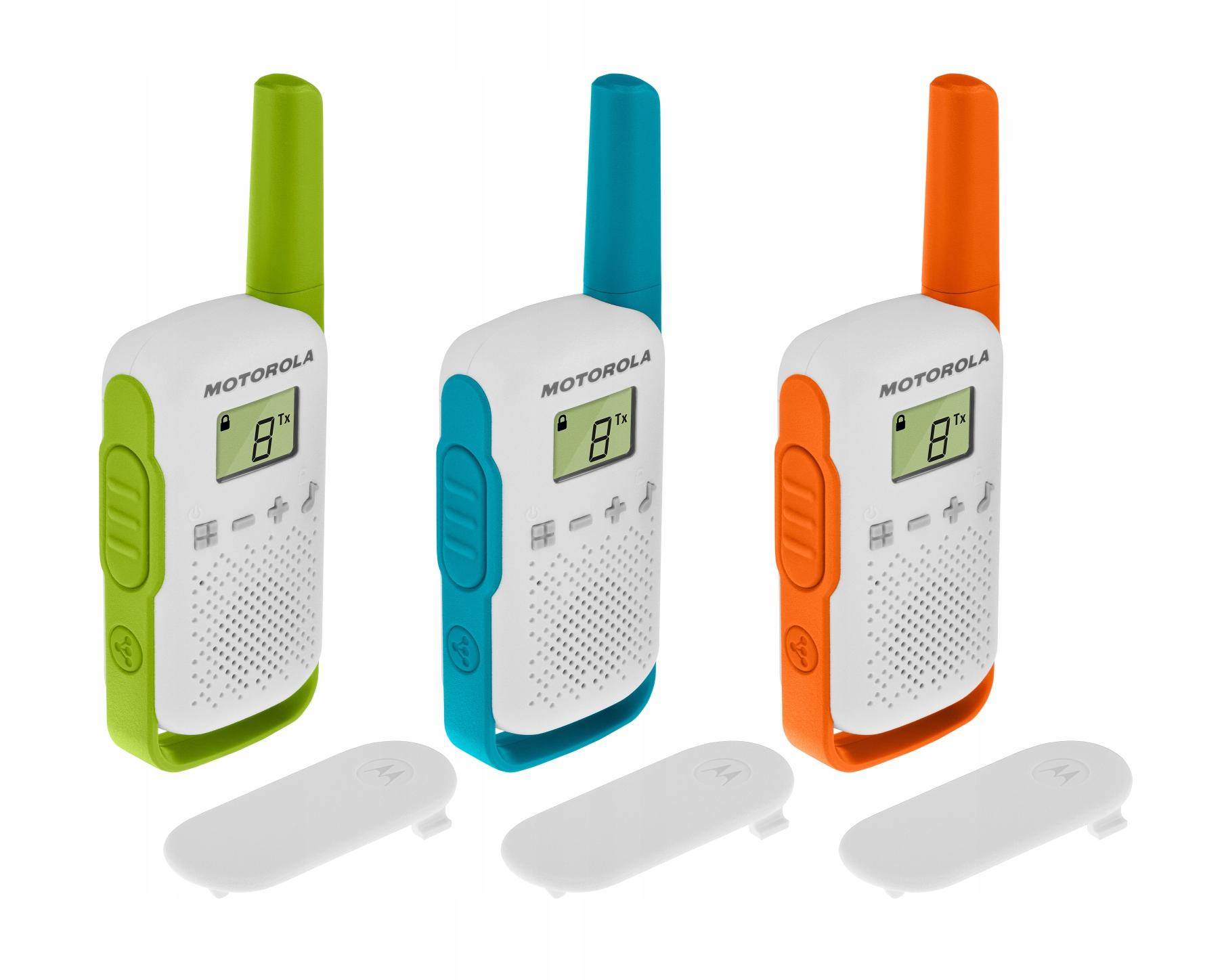 Item MOTOROLA T42 [3 walkie-talkie walkie-talkie]