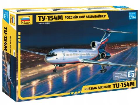 Civil Авиалайнер ту-154М - ZVEZDA 7004 доставка товаров из Польши и Allegro на русском