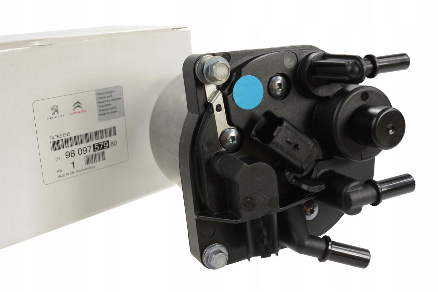 корпус фильтр топлива 16 hdi 9809757980 оригинал