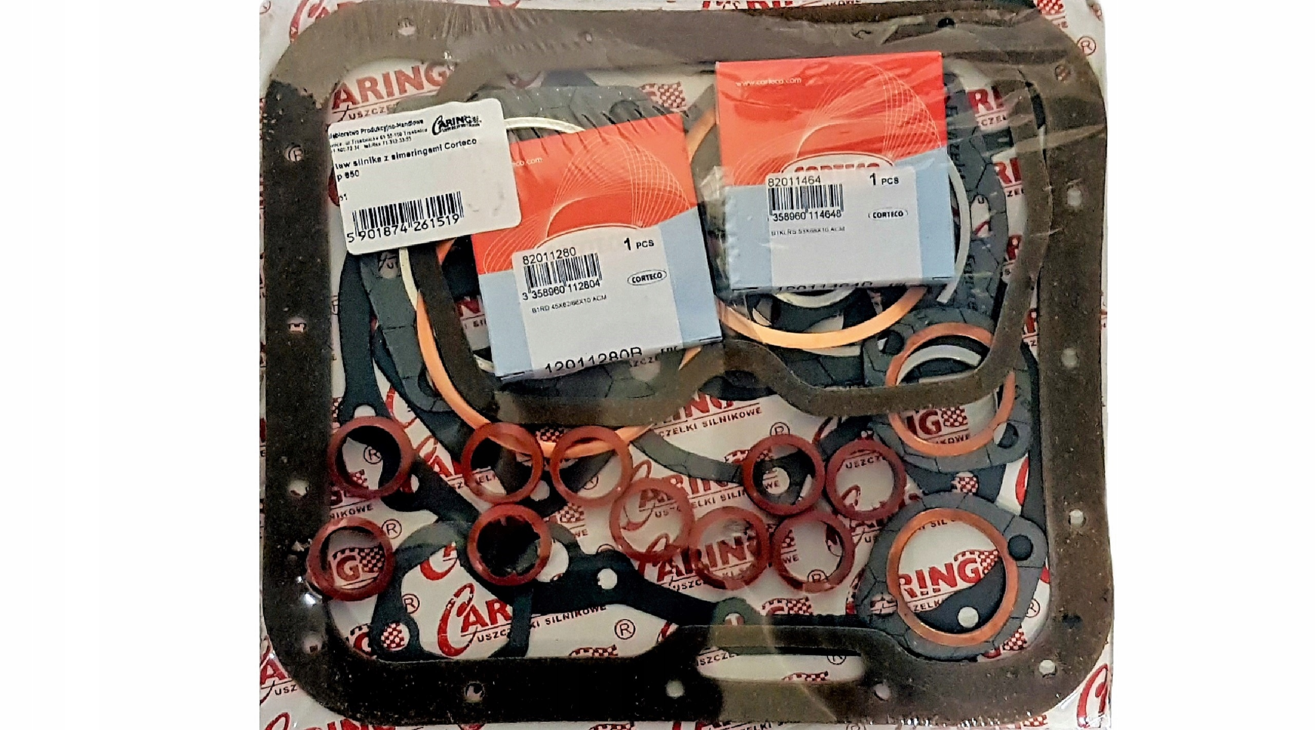 комплект прокладок двигателя полный fiat 126p 650ccm