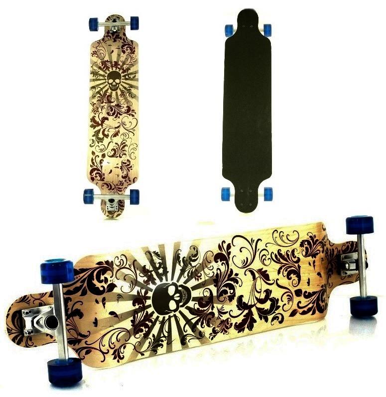 Maple Skateboard 9 Longboardové vrstvy ABEC7 821A NOVÉ