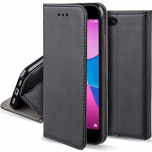 Etui Smart Magnet do Huawei Y6 2018 i Szkło 9H