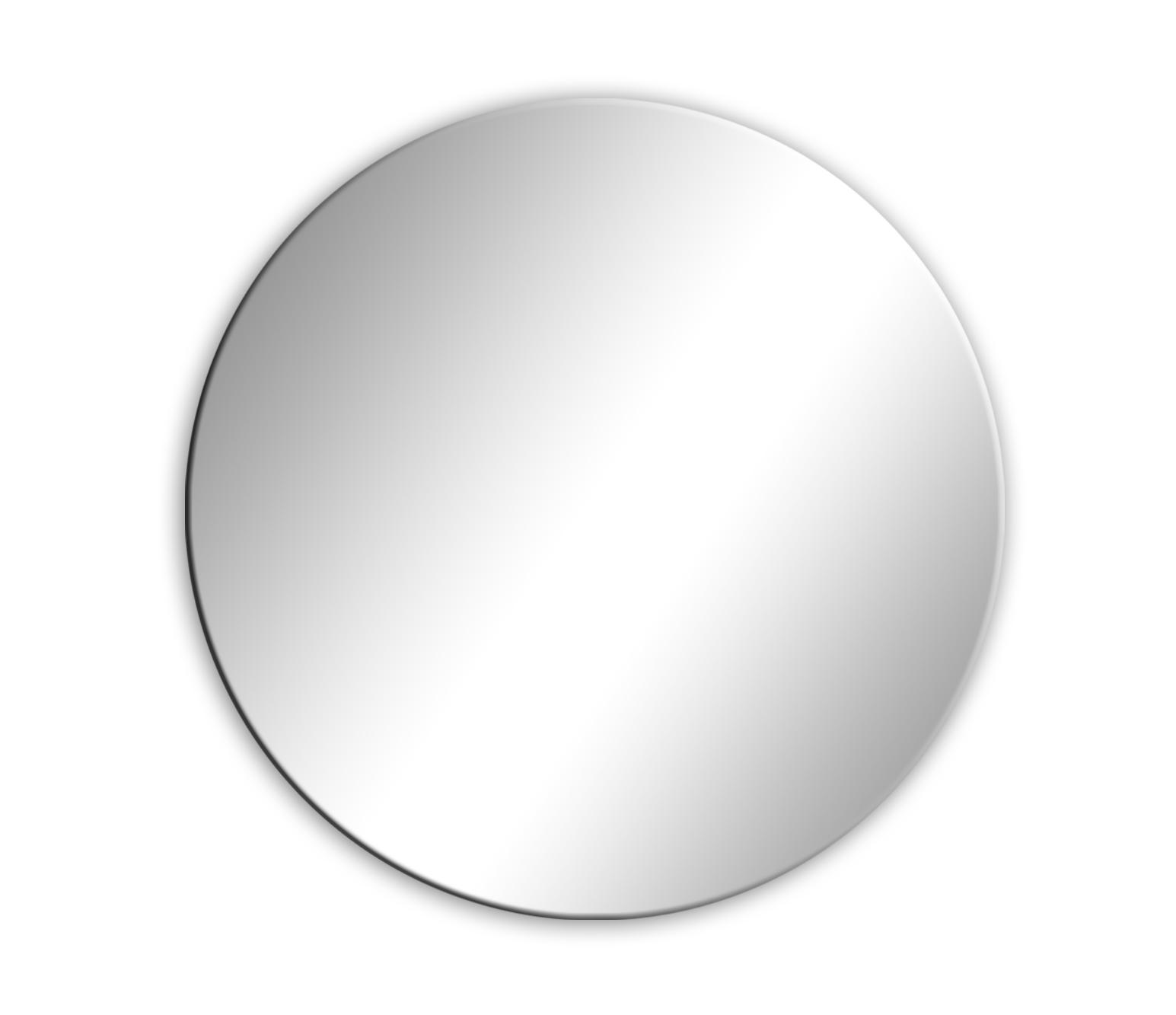 Zrkadlový kruh kolo 70x70 s rôznou veľkosťou veľkosti