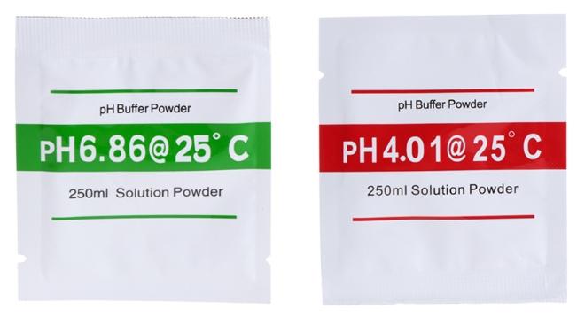 Буфер для калибровки pH-метров 4.01 6.86 порошок