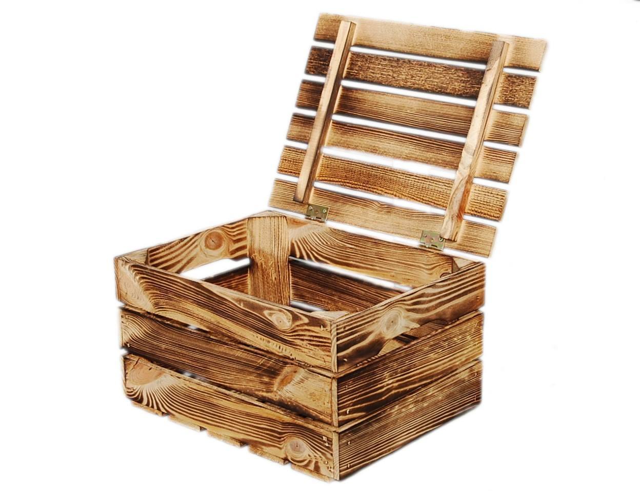 Деревянный ящик Ящик для багажа Opal 22x30x40