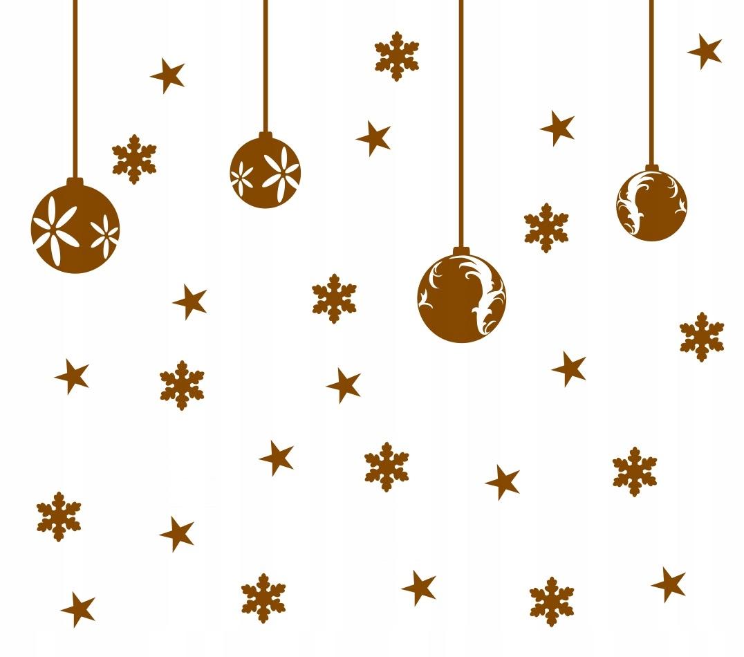 Nálepky na vianočné Veľkonočné okno Vianočné dekorácie