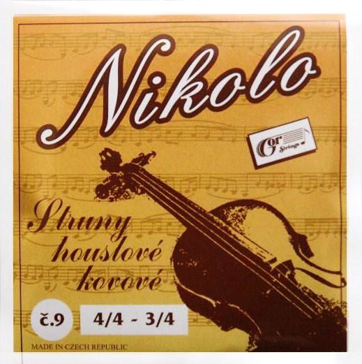 Item CZECH violin Strings for 3/4 4/4 STEEL CORE