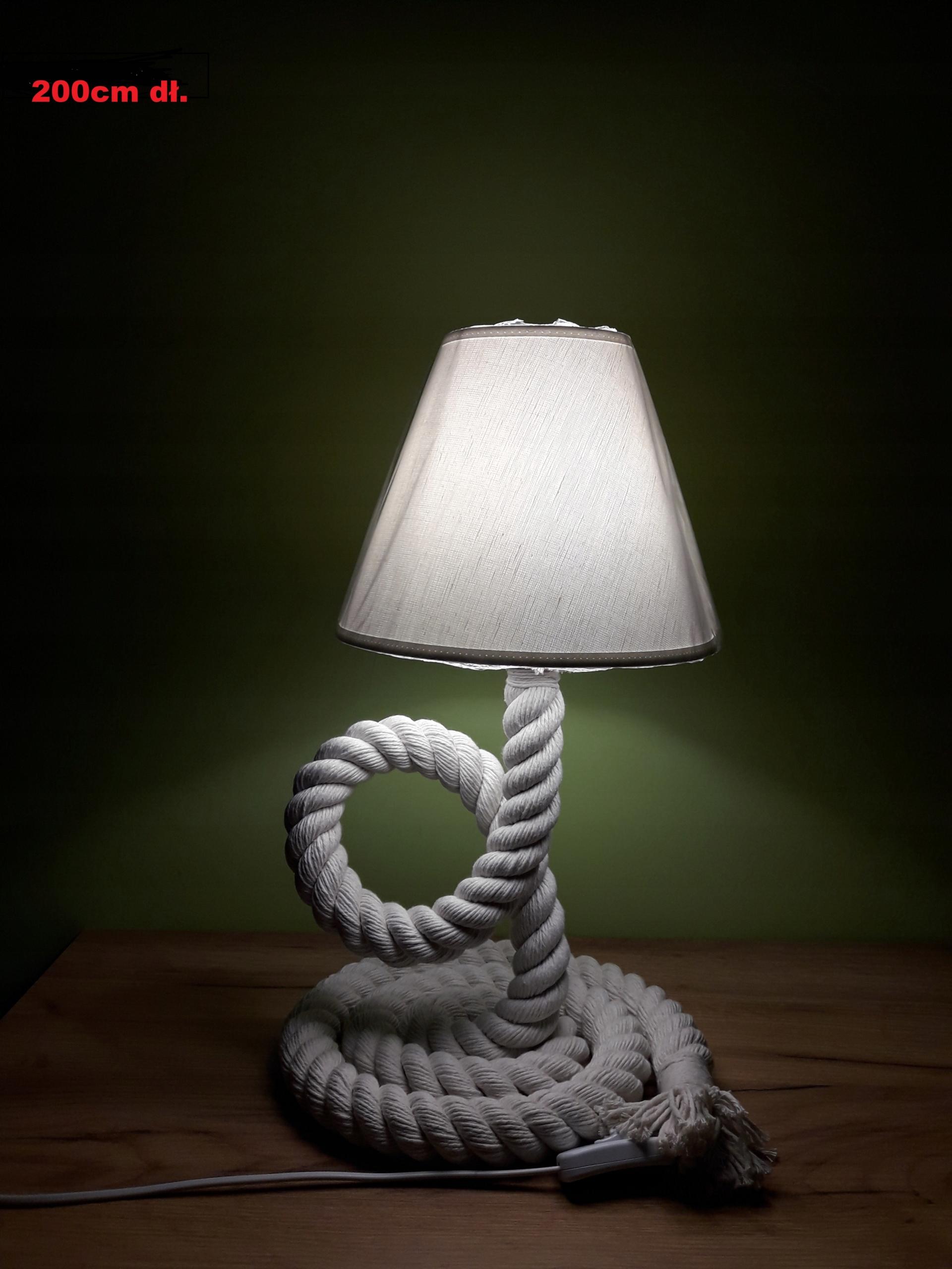 Lampy, nočné lampy lano marynistyczna 2m ručné