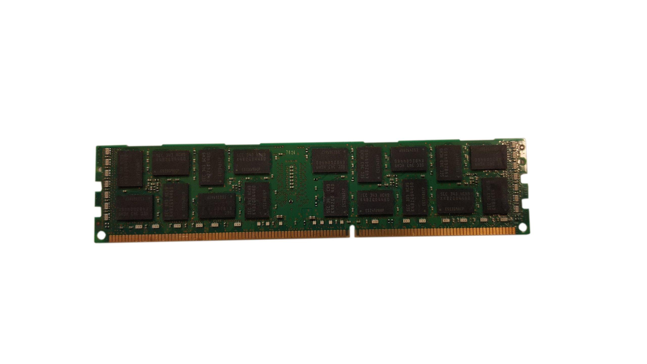 8x 16 GB 2RX4 PC3L-12800R Dell R710 R610 R510