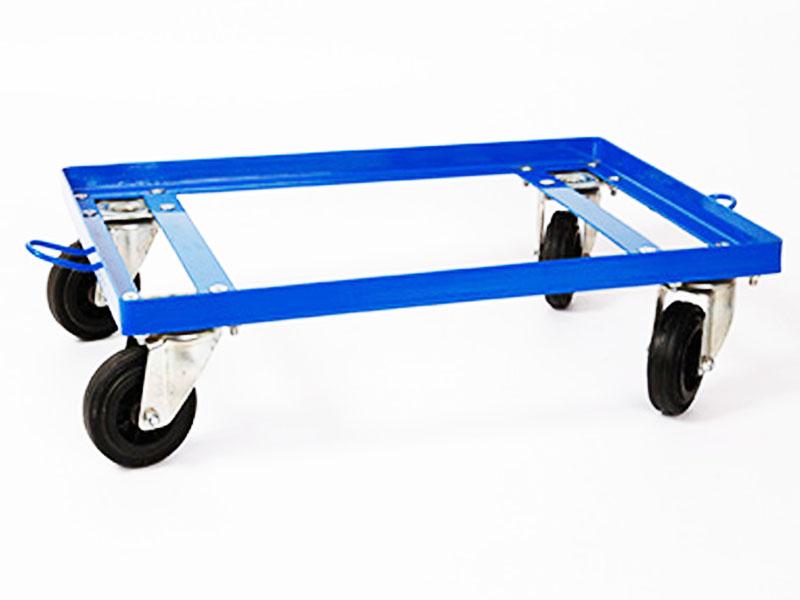 Nový vozík pre kontajnery Euro 600x400 oceľ Łódź