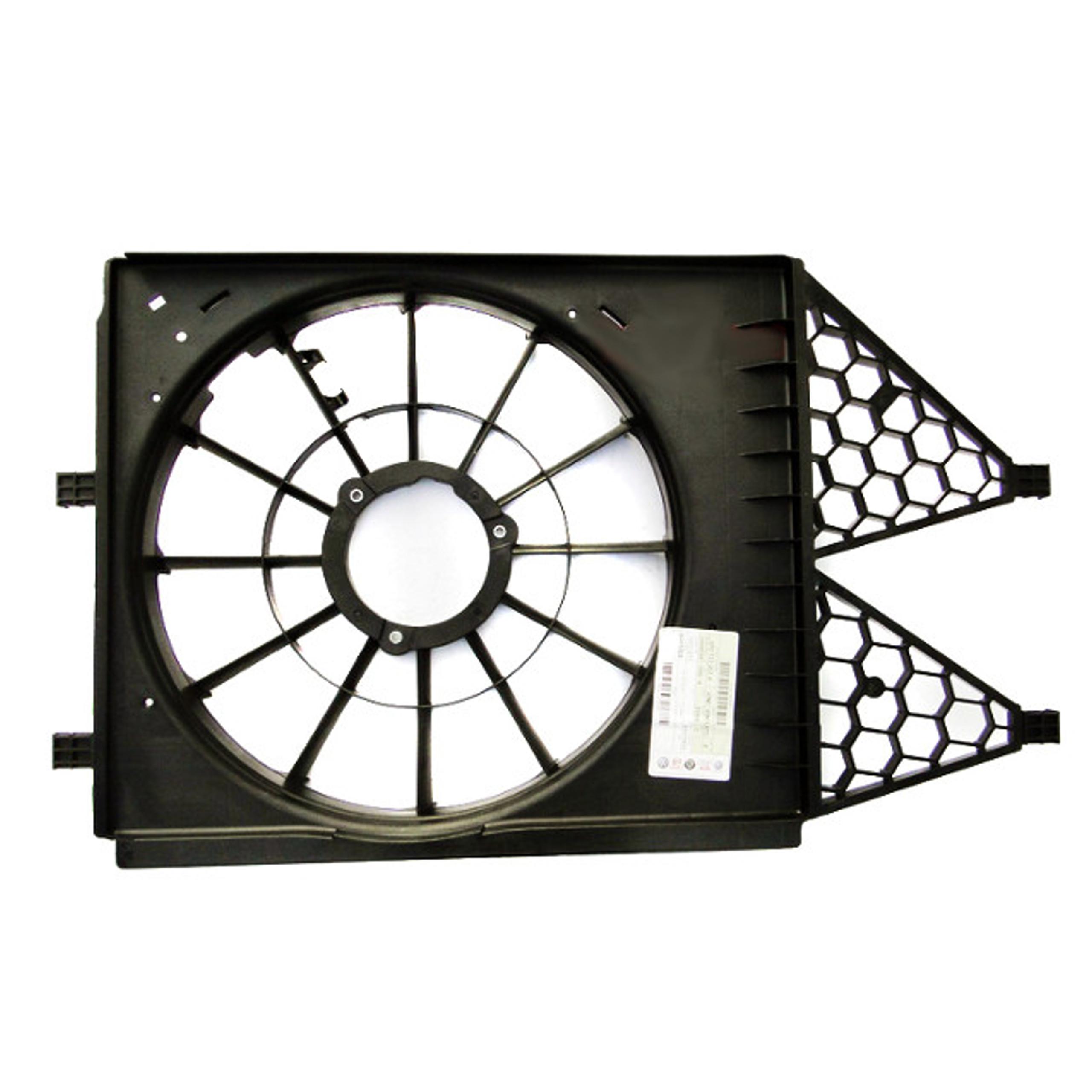 корпус вентилятора skoda rapid fabia ii 6r0121207