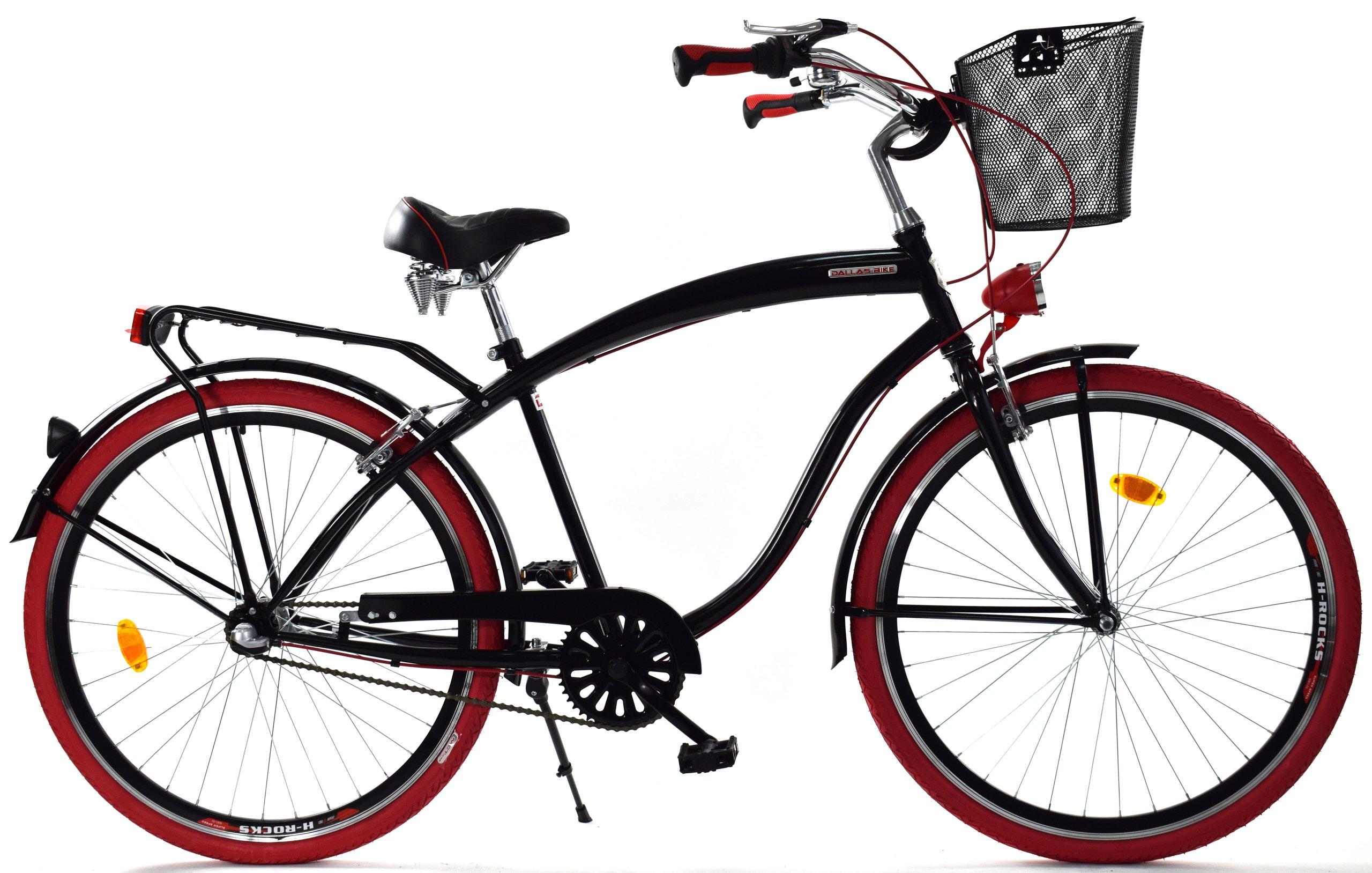 Pánske City bike 28 CRUISER Dallas HLINÍKA