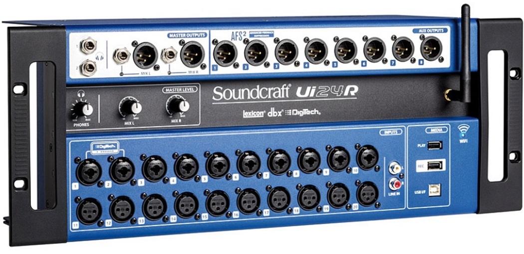 Soundcraft UI 24R DIGITAL MIXER WIFI / USB / IOS / MP3