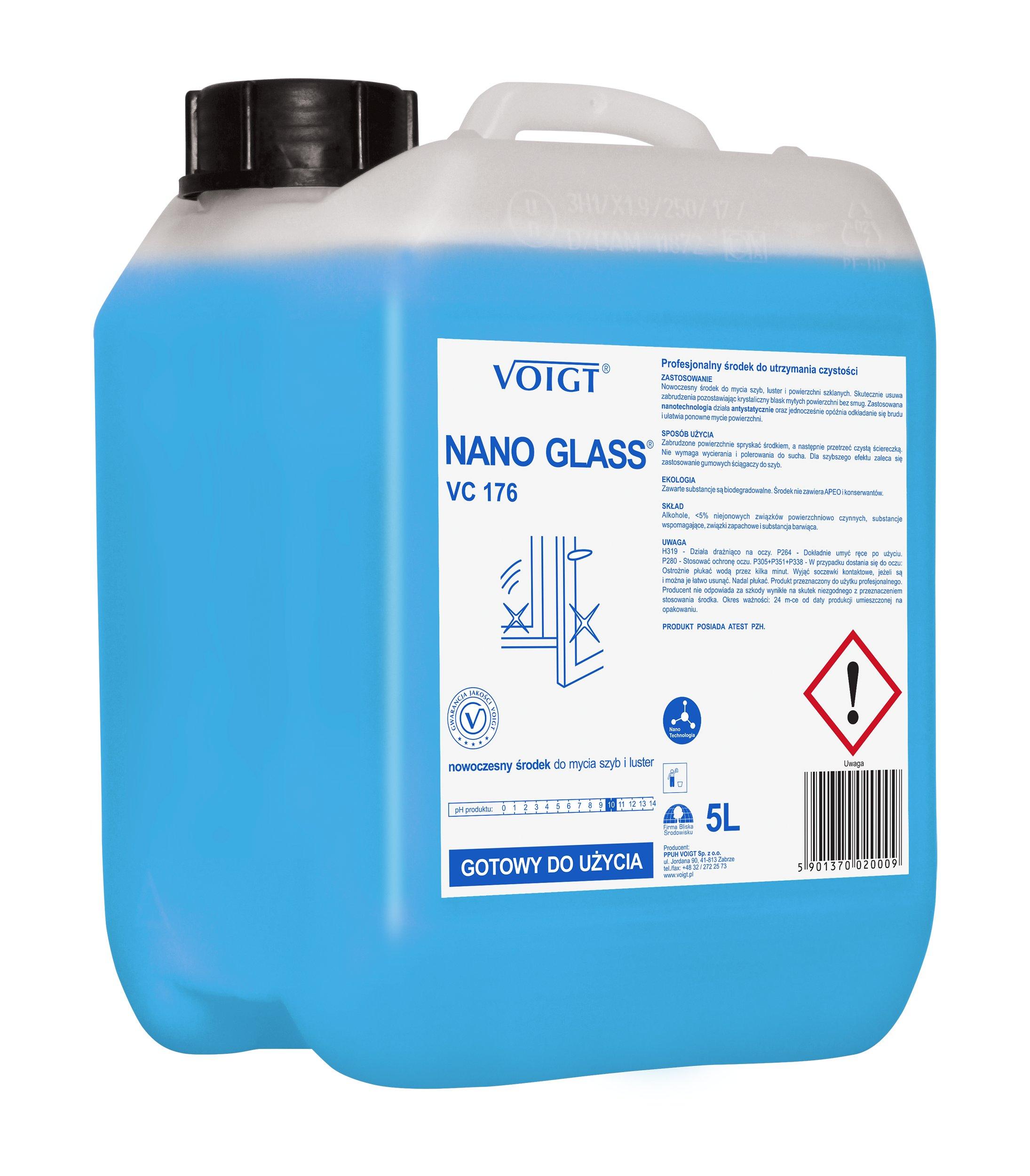 ФОЙТ NANO GLASS VC 176 5л для мытья стекол без разводов