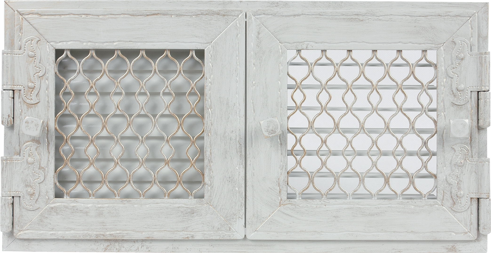 Stožiare, Retro dvojité biela antik, ktorý sa otvorí, 17