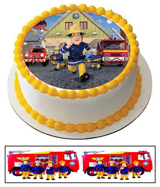 Торты пожарный сэм фото