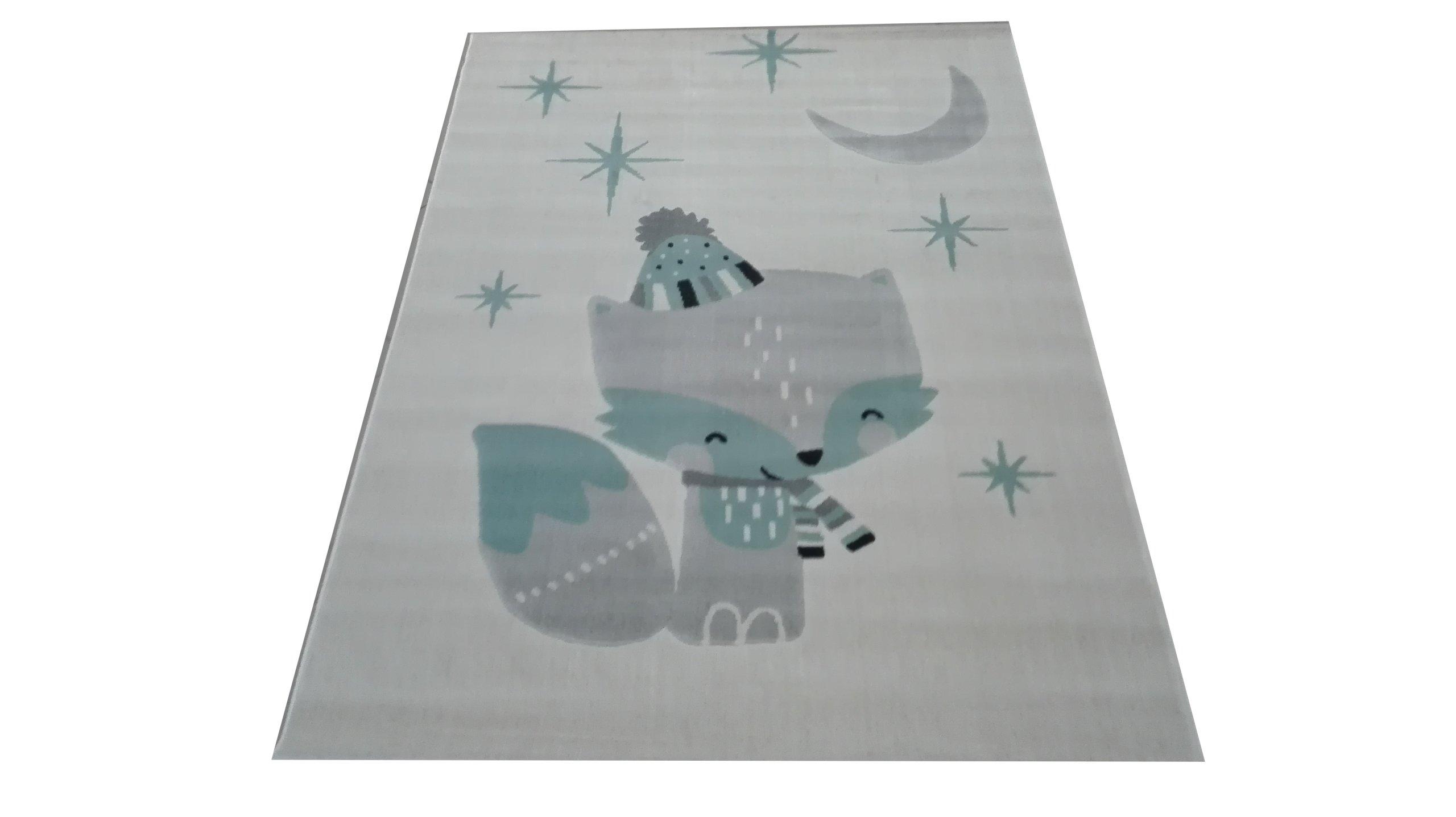 KOBEREC plátno 120X170 SCANDYNAVIA FOX Béžová šedá