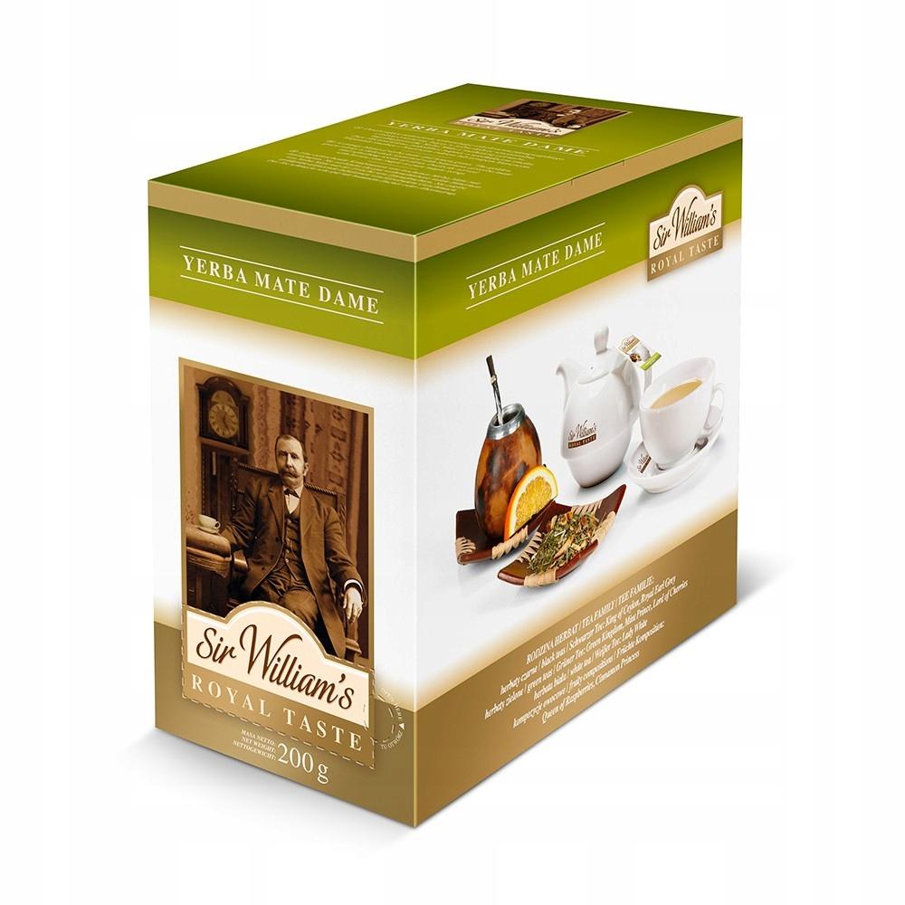 Pán Williams Royal Chuť Yerba Mate 50 čaj
