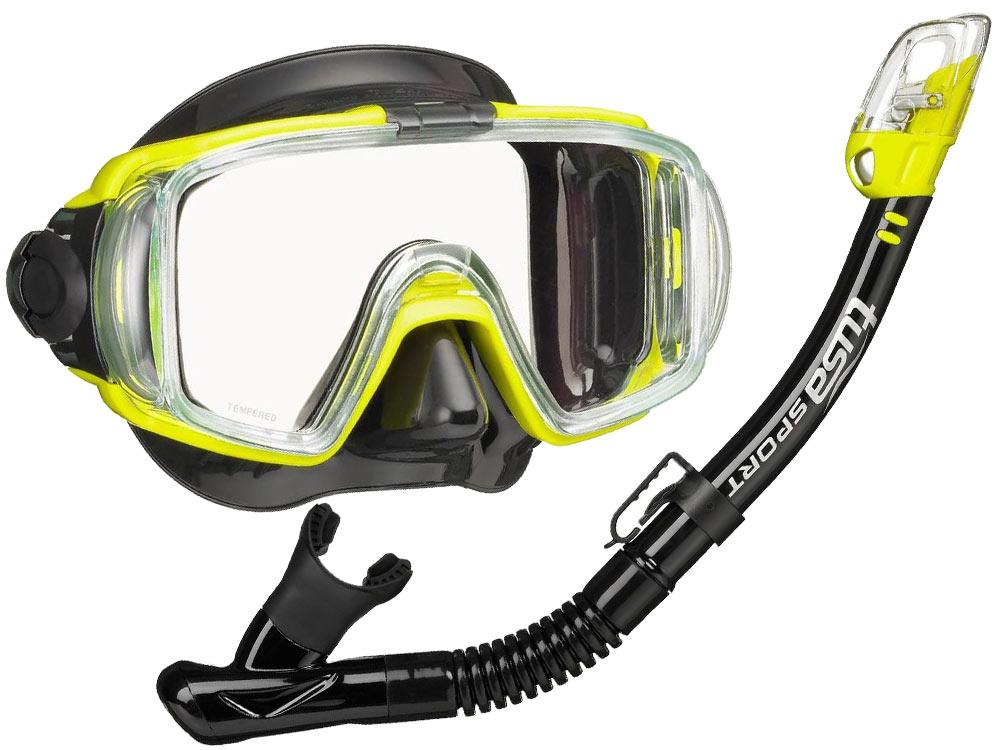 TUSA NASTAVIŤ POTÁPAČSKÁ maska šnorchel VISIO UC-3125 3kol