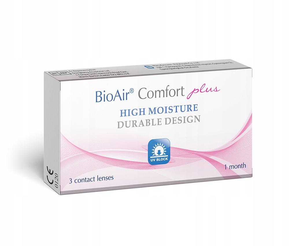 BioAir Comfort PLUS 3szt. uniwersalne soczewki
