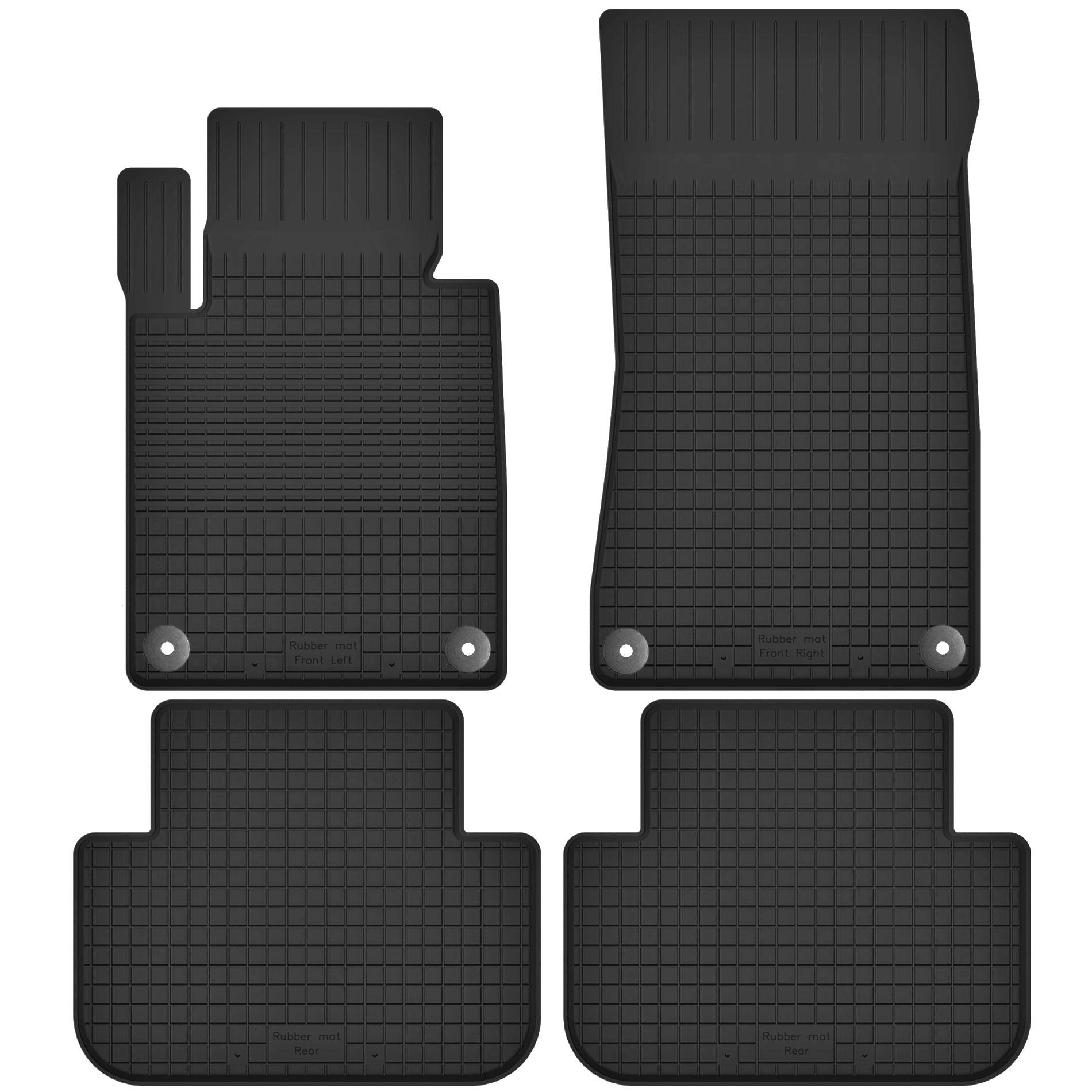 Резиновые коврики BMW 3 E36 E46 E90 E91 + СТОПЕРЫ