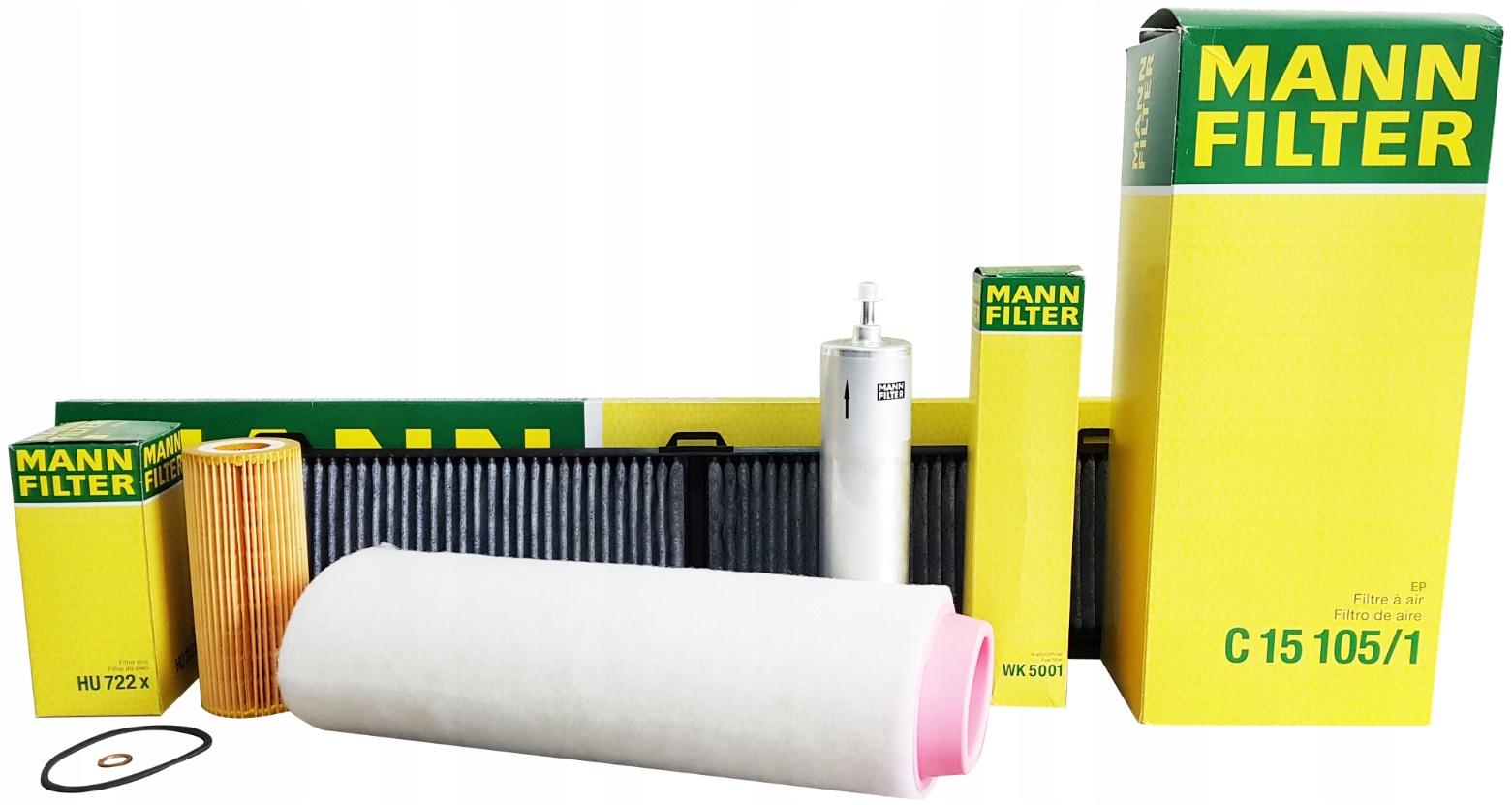 bmw e90 e91 320d комплект фильтры mann filter