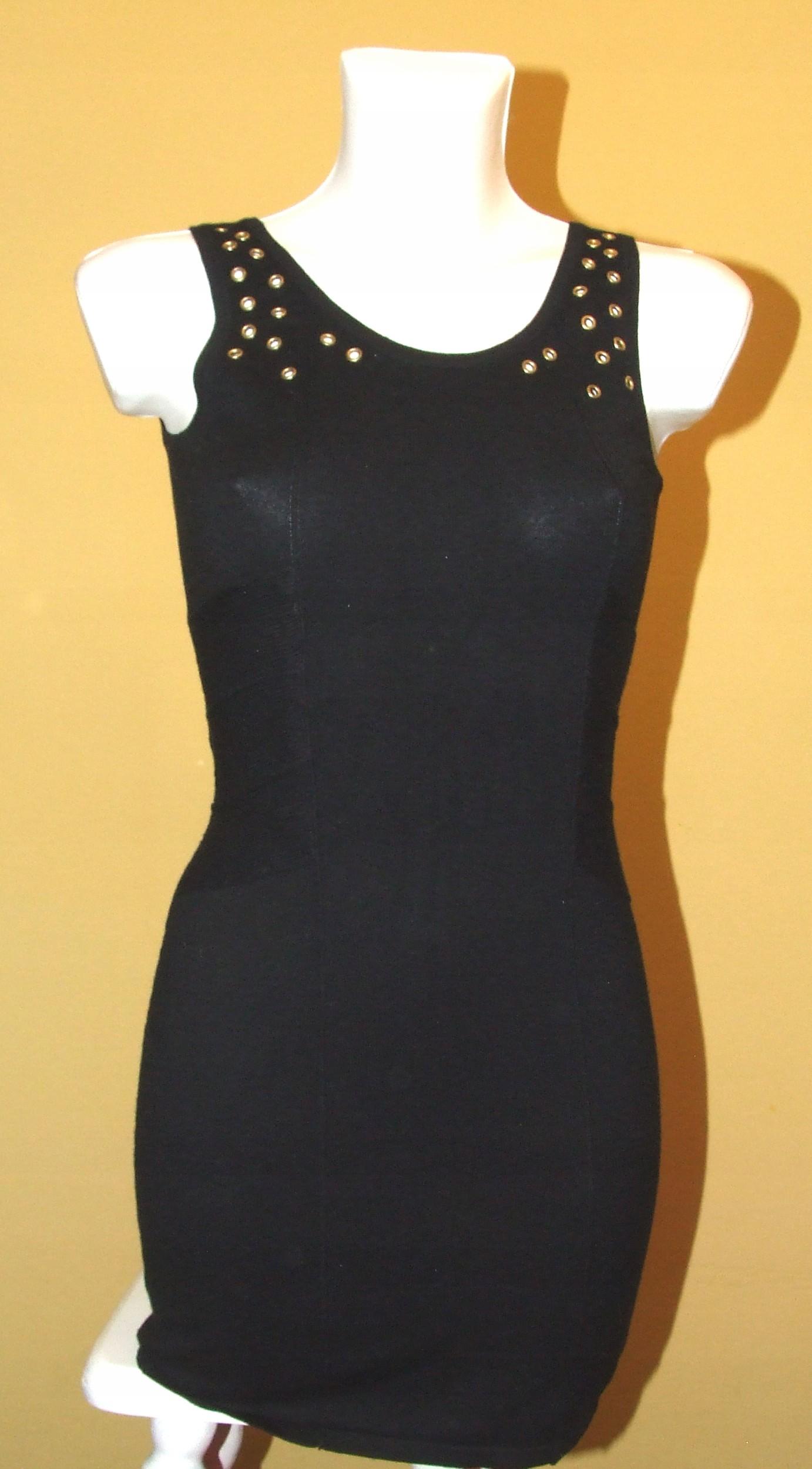 b33962d131 H M Divided czarna letnia sukienka 7543019439 - Allegro.pl - Więcej niż  aukcje.