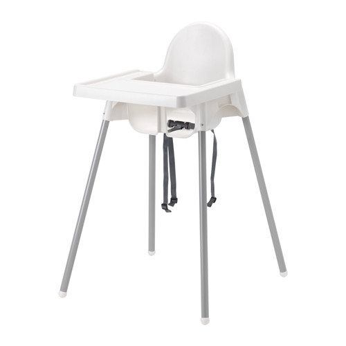 Item IKEA ANTILOP Highchair with straps +TRAY