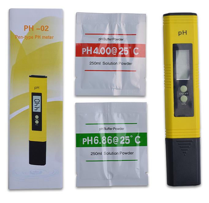 Измеритель pH-Метр 02 надежный электронный +2 буфера