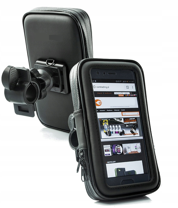 Item Holder with cellphone Cover Bike Motorcycle motorbike