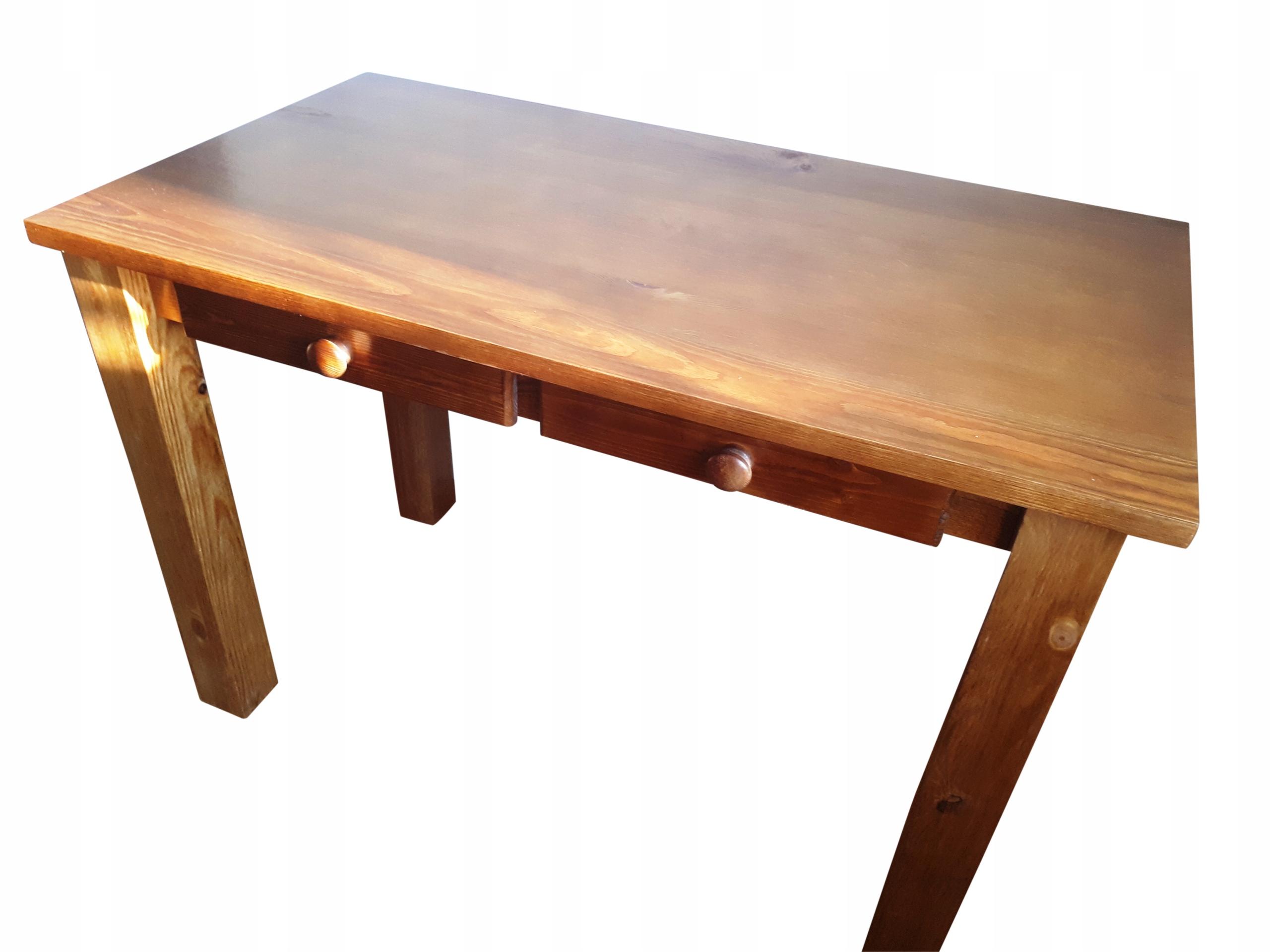 Stół drewniany sosnowy 90x90 ELEGANCKI NOWOCZESNY Kolor mebla sosna
