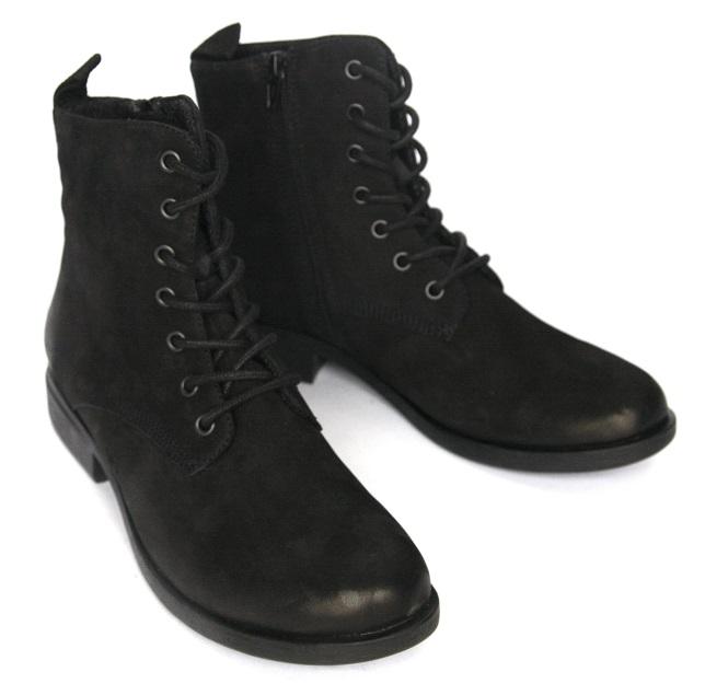 VAGABOND _ 25% pracovníka topánky, nubuk kožený retro