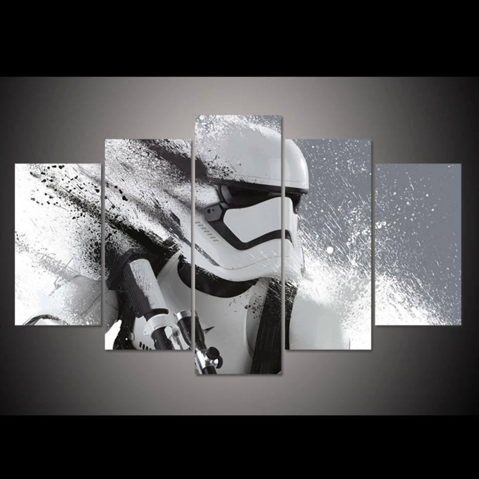 Star Wars Darček Maľby Na Plátne Rám.Dim.2