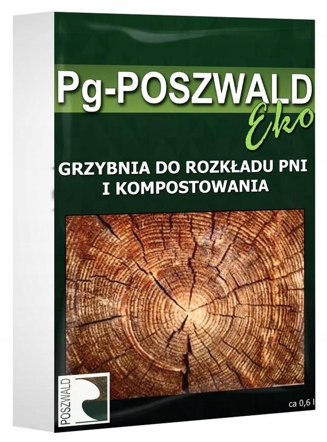 Pg POSZWALD ЭКО Мицелий для разложения стволов деревьев